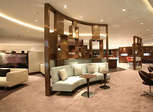Etihad Business Class Lounge