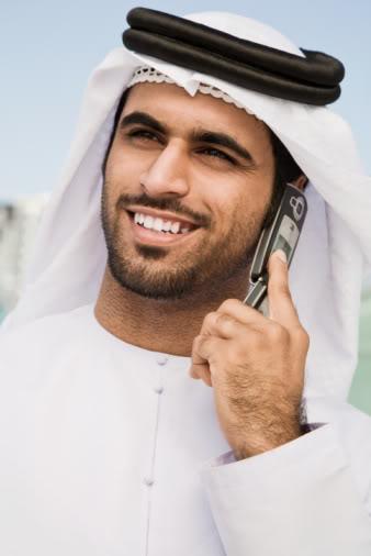 Handsome Emirati Man