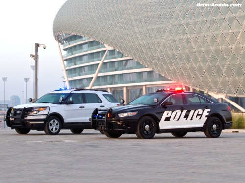 Ford-Police-Interceptor-at-Yas-Marina-Abu-Dhabi-